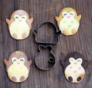 Cute-Penguins--Chick-Metal-Fondant-Cake-Cookie-Bakeware-Mould-stainless-steel-Cookie-Cutters-3D-Biscuit (1)