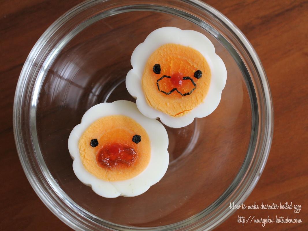 【お花のゆで卵の作り方♪】ポン・デ・ライオン茹で卵も作ってみた!【キャラ弁】