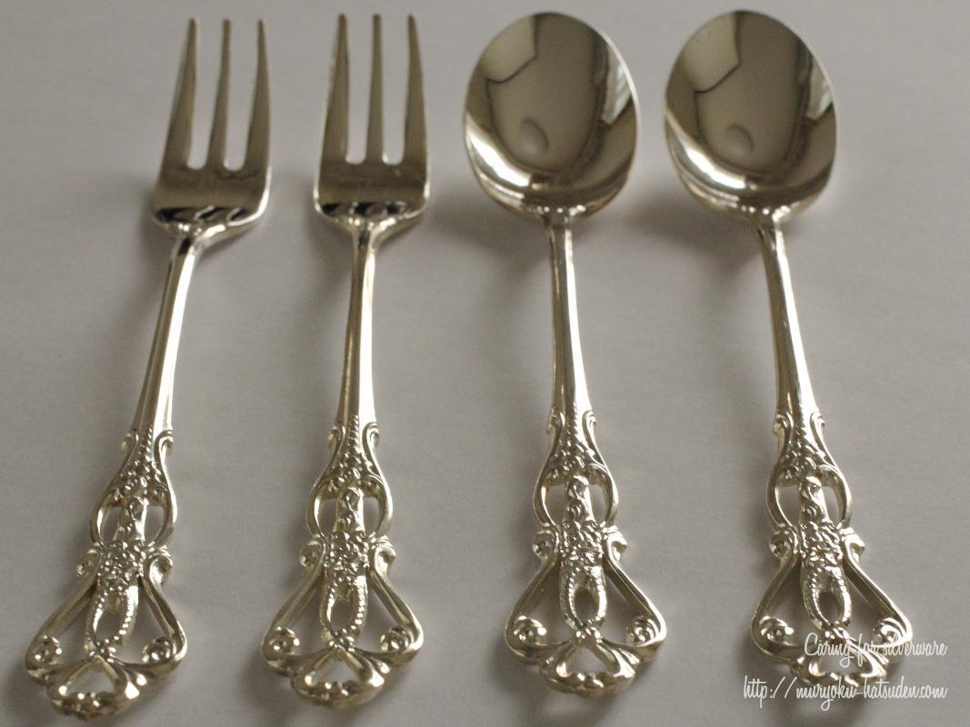 【お手入れ方法♪】銀食器が変色!ツルピカにお手入れしてみた🍴✨