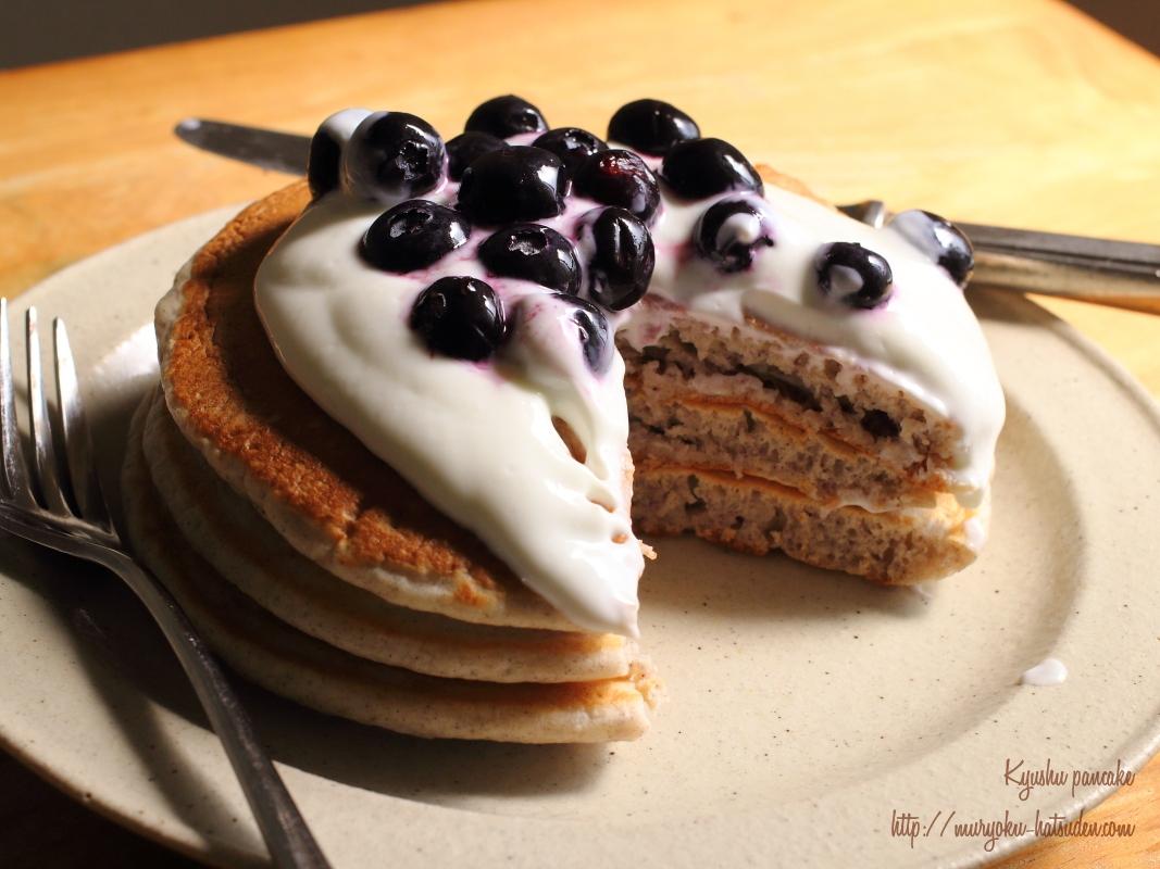 【作ってみた♪】九州の素材だけで作った「九州パンケーキ」を食べてみた!