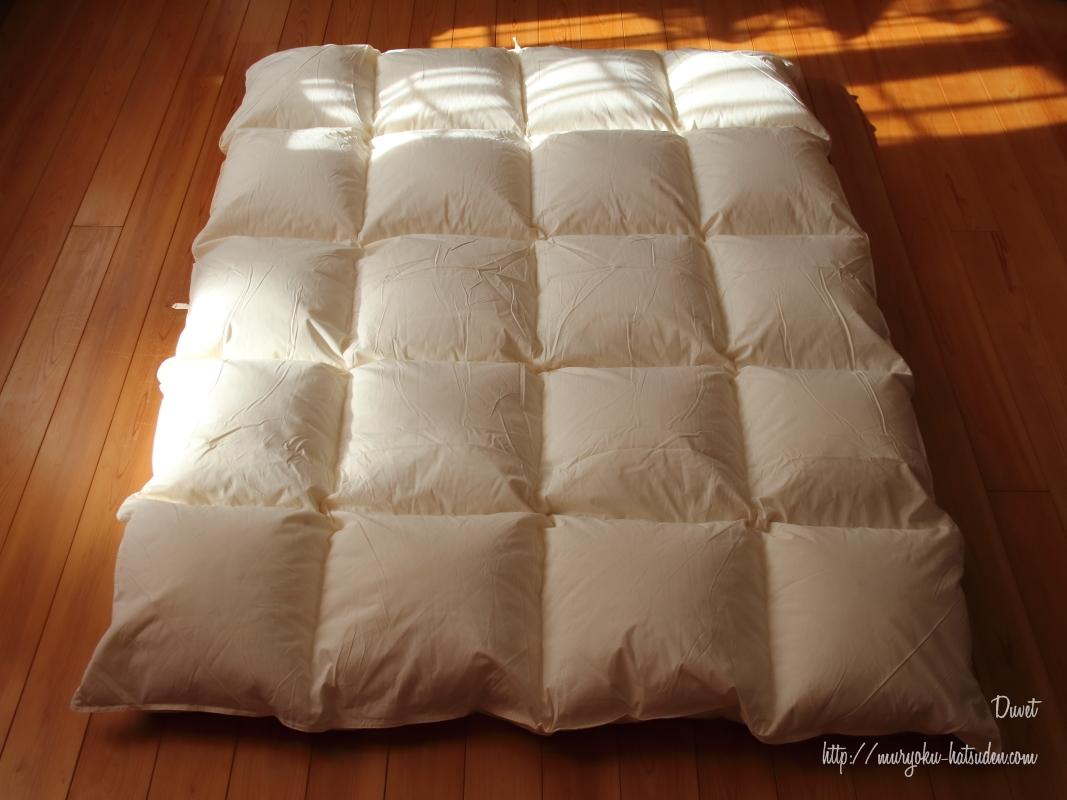 寒い冬に12000円の羽毛布団を買ってみた!【レビュー】