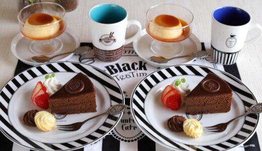 【作ってみた】お家ファントムカフェ♪妹&坊ちゃんに捧げるチョコレートケーキプレートを作ろう❁🍫【黒執事】